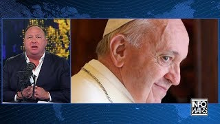 Download Alex Jones Says The Pope Is A 'Demon Possessed Piranha' Video