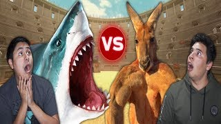 Download Reaction Time Vs Shark! (Beast Battle Simulator) Video