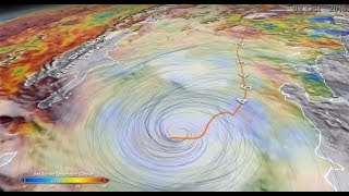 Download A New Multi-dimensional View of a Hurricane Video