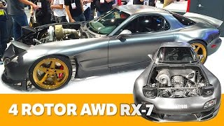 Download The World's First AWD 4 Rotor RX-7 | Preview Video