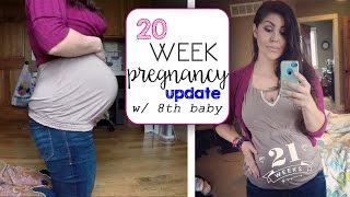 Download 20 Weeks Pregnant with 8th Baby - GENDER? Video