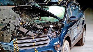 Download Ford Escape (2018) Bad Result to Crash Test Video
