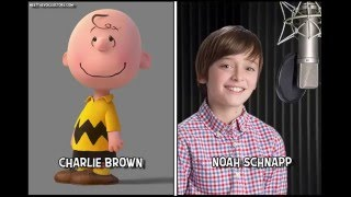 Download The Peanuts Movie ( Snoopy and Charlie Brown ) Characters And Voice Actors Video