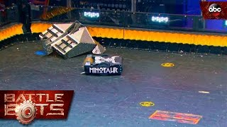 Download Blacksmith vs. Minotaur - BattleBots Video