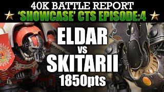Download Eldar vs Skitarii Showcase CTS4 Warhammer 40K Bat Rep THE FINAL BLOW! 7th Ed 1850pts Video