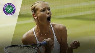 Download Maria Sharapova vs Serena Williams: Wimbledon final 2004 (Extended Highlights) Video