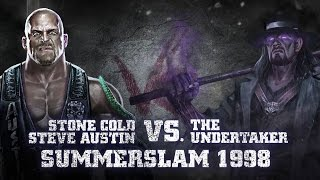 """Download """"Stone Cold"""" Steve Austin vs. The Undertaker, part of WWE Immortals Video"""