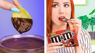 Download Try Not To Eat Challenge! 11 Funny Edible Pranks! Video