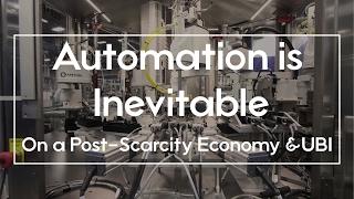 Download $15 minimum wage isn't causing Automation; On Post-Scarcity & UBI Video