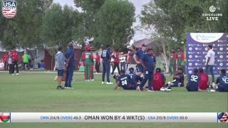 Download USA vs Oman - LIVE International Cricket from WCL3 in Oman Video