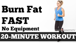 Download Burn Fat Fast: 20-Minute Full Body Workout At Home to Lose Weight No Equipment Video