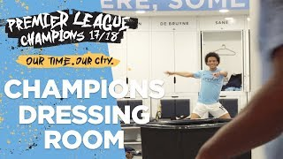 Download DRESSING ROOM EXCLUSIVE! | Man City Premier League Champions 2017/18 Video
