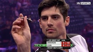 Download Alastair Cook v James Anderson - World Darts Championship, Alexandra Palace Video