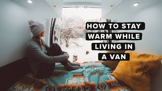 Download Van Life: How to Stay Warm While Living in A Van During Winter Video