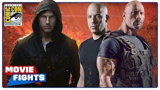 Download Mission: Impossible vs. Fast and the Furious - MOVIE FIGHTS (SDCC 2018 Panel) Video