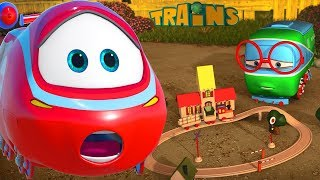 Download My Red Train (+1 hour funny Train kids videos compilation) Video