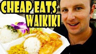 Download Top 9 Best Cheap Eats in Waikiki Hawaii Video