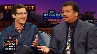 Download Andy Samberg's Three Questions for Neil deGrasse Tyson Video