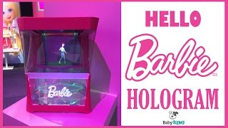 Download HELLO BARBIE HOLOGRAM | NEW TOY FOR 2017 | Toy Fair Video