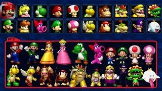 Download Mario Kart: Double Dash - All Characters Video