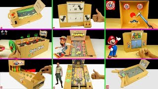 Download 10 Amazing Cardboard Games Compilation Video