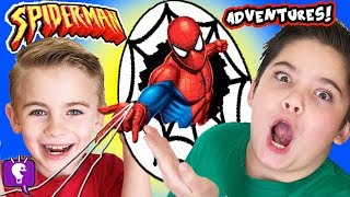 Download SPIDERMAN Toy Adventure with SKEE BALL and Kids Play Video