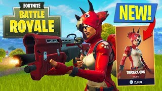 Download NEW UPDATE!! *LEGENDARY TRICERA OPS & LMG* // 15,000+ KILLS // 794+ WINS (Fortnite Battle Royale) Video
