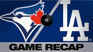 Download Muncy lifts Dodgers with walk-off HR in 10th | Blue Jays-Dodgers Game Highlights 8/21/19 Video