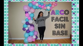 Download Como hacer arco destruido de globos sin base sireninta arco organico Video