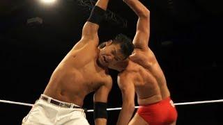 Download Zack Sabre Jr vs. KUSHIDA (Pro Wrestling World Cup - Quarter Finals) Video