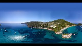 Download 360 VR Video of Skopelos at the Greek island Video