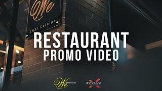Download Restaurant Promo Video | Sigma 30mm f/1.4 Video