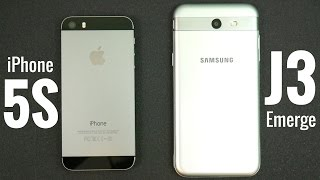 Download iPhone 5S vs Samsung Galaxy J3 Emerge? Video