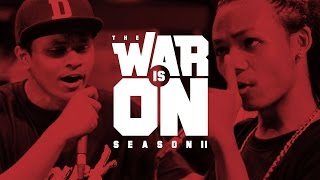 Download THE WAR IS ON SS.2 EP.12 - MC KING VS DARKFACE | RAP IS NOW Video