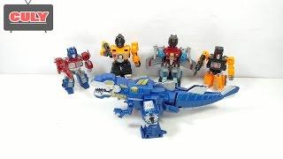 Download Ráp robot khổng lồ từ khủng long máy bay và xe hơi đồ chơi trẻ em toy for kids Video