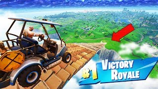 Download GOLF KART JUMP from MAX HEIGHT in Fortnite Battle Royale Video