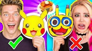 Download PANCAKE ART CHALLENGE 5!!! Learn How To Make Minions Pokemon Incredibles 2 Tomb Raider DIY Pancakes Video