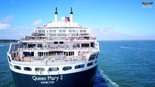 Download Queen Mary 2 is back to Saint Nazaire - The Bride 2017 Video