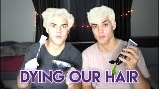 Download DYING OUR HAIR!! Video