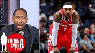 Download Stephen A. adamant Carmelo Anthony has to start for Rockets | Stephen A. Smith Show Video