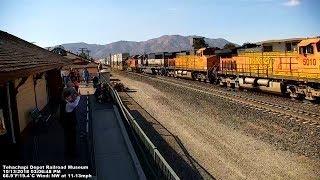 Download Tehachapi Depot Railroad Museum - Tehachapi Live Train Cam 2 Video