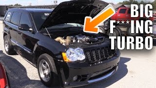 Download 1000+hp Turbo Jeep Hits the Strip at Street Car Takeover Video