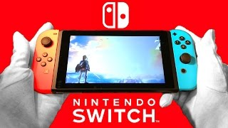 Download Nintendo Switch Unboxing & Review + Pro Controller Video