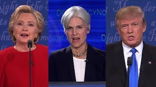 Download Part 1: Jill Stein ″Debates″ Clinton & Trump in Democracy Now! Special Video