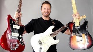 Download Ultimate Fender Comparison! - STRAT, TELE, or JAZZMASTER?? Video