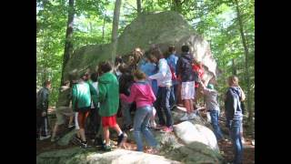 Download 5th grade at Wompatuck State Park, Hingham MA Video