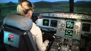 Download CPL Holder landing an Airbus A320 manually - Baltic Aviation Academy Video