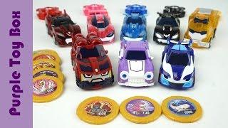 Download 8종 울트라 와치카 와 파워코인배틀 와치카 시즌2 장난감 Watch Car Mini Car Toys Video