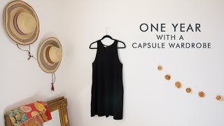 Download I've had a capsule wardrobe for a full year! Here's what I think about it. Video