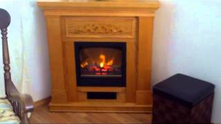 Download Electric Fireplace Oak, Walmart Video
